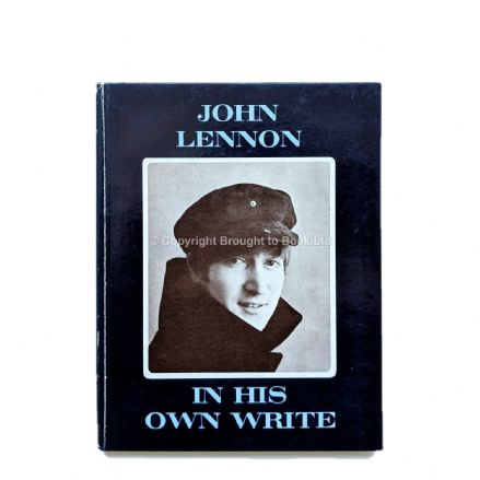 John Lennon In His Own Write Signed by John Lennon Autograph First Edition Jonathan Cape 1964